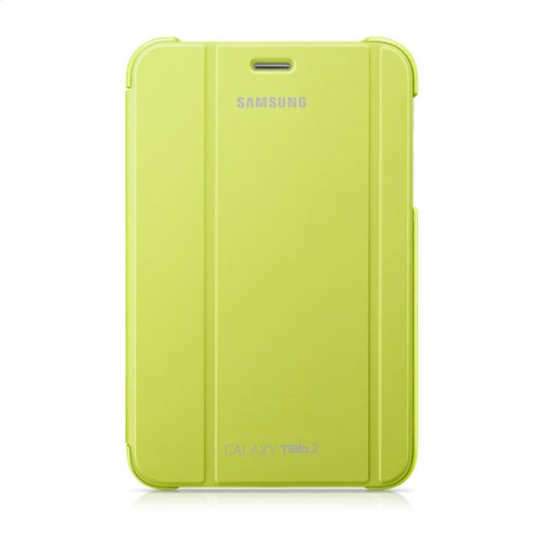 Galaxy Tab 2 7.0 Magnetic Book Cover, Lime Green