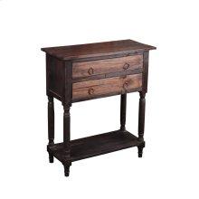 CC-TAB014TT-BWRW  Cottage Stacked Drawer Storage Table