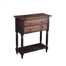 CC-TAB014TT-BWRW  Cottage Stacked Drawer Storage Table