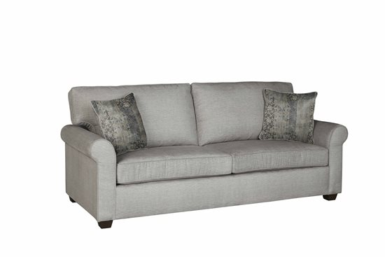 Sofa   Gray Microfiber Finish