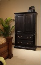 Armoire - Antique Black Finish Product Image