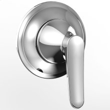 Wyeth Two-Way Diverter Trimwith Off - Polished Chrome Finish