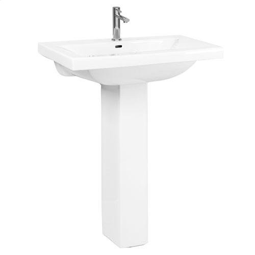 Mistral 510 Pedestal Lavatory, - Single-Hole