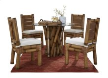Kauai 6 PC Dining Set w/beige cushions