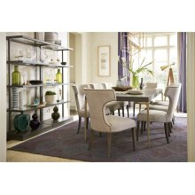 Button Back Etagere