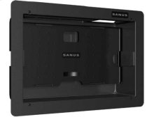 Black Large Recessed Wall Box; Holds up to six components