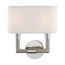 Dubois Wall Sconce - Polished Nickel Product Image