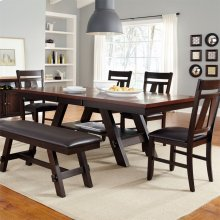 6 Piece Rectangular Table Set
