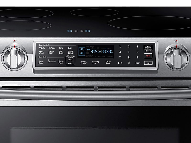 Slide In Induction Range With Virtual Flame