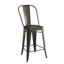 Rustic Antique Bronze Bar Stool