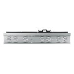 """Dacor Modernist 48"""" Rangetop, Silver Stainless Steel, High Altitude Natural Gas"""