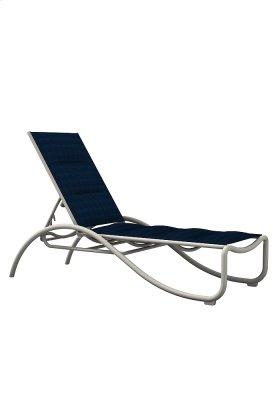 La Scala Padded Sling Chaise Lounge