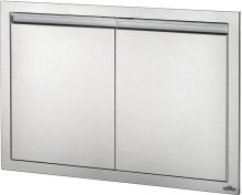 "36"" X 24"" Large Double Door , Stainless Steel"