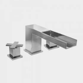 3300 Series Roman Tub Set with Mixx Handle (available as trim only P/N: 1.333277T)