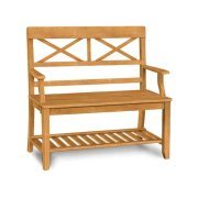 Double X Back Bench Product Image