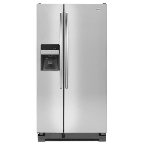 22 cu. ft. Side-by-Side Refrigerator with a Flush Ice and Water Dispenser
