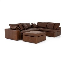 Halstead 2 Piece Sectional W/ Ottoman