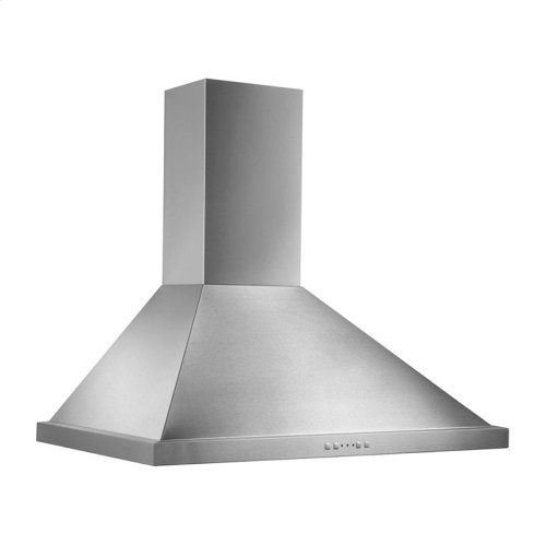 """30"""" 500 CFM Stainless Steel Range Hood Traditional Canopy, Electronic Control"""