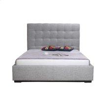 Belle Storage Bed California King Light Grey