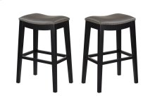 "Emerald Home Briar 30"" Bar Stool Elephant Gray D107-30-13"