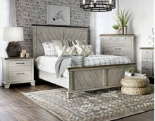"Bear Creek Queen Footboard 67""x3""x27"""