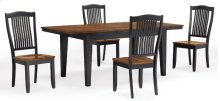 Slat Back Side Chair (ebony)