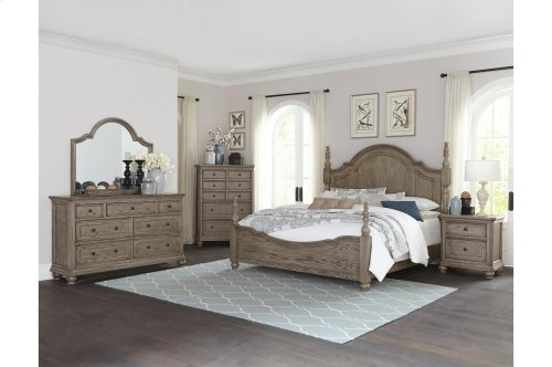 California King Poster bed