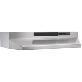 "Broan 160 CFM, 30"" Undercabinet Range Hood on Stainless Steel"