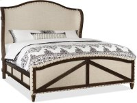 Roslyn County Queen Deconstructed Uph Panel Bed Product Image