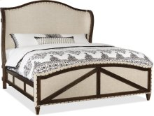 Roslyn County Queen Deconstructed Uph Panel Bed