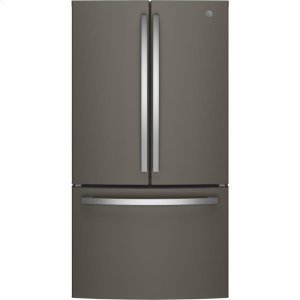 GE® ENERGY STAR® 27.0 Cu. Ft. French-Door Refrigerator - SLATE