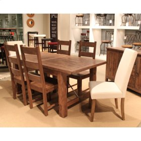 Clearance Item-- Autumn Falls 7 Pc  Dining Group (All Side Chairs, no parson chairs)