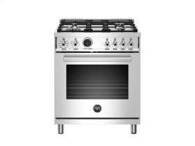 30 inch 4-Burner, Electric Self-Clean Oven Stainless