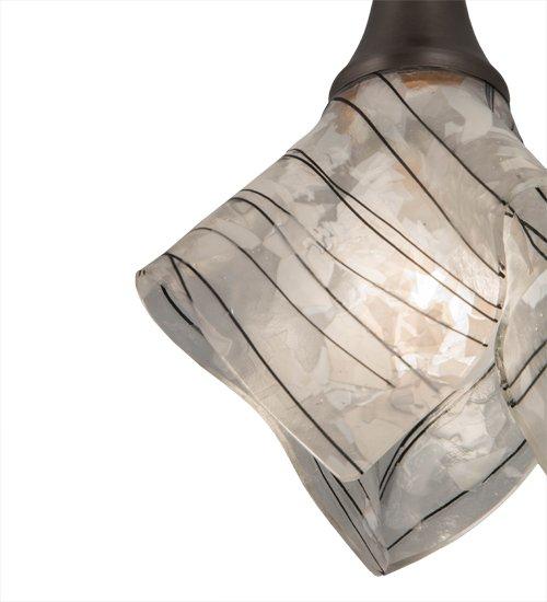 """9"""" Wide Handkerchief Branches Mini Pendant"""