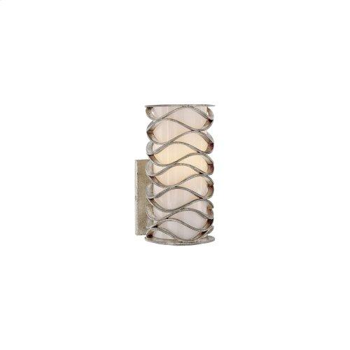 Visual Comfort S2089BSL-WG Studio Bracelet 1 Light 4 inch Burnished Silver Leaf Decorative Wall Light
