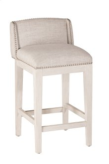 Bronn Non-swivel Counter Stool - White Wirebrush - 2 Stools Per Ctn