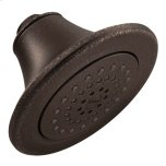 "Moenoil rubbed bronze one-function 5-7/8"" diameter spray head eco-performance showerhead"
