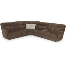 6 PIECE POWER RECLINING SECTIONAL WITH POWER HEADREST UPGRADE