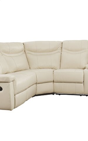 Manual Leather Laf Loveseat