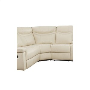 Manual Leather Raf Loveseat