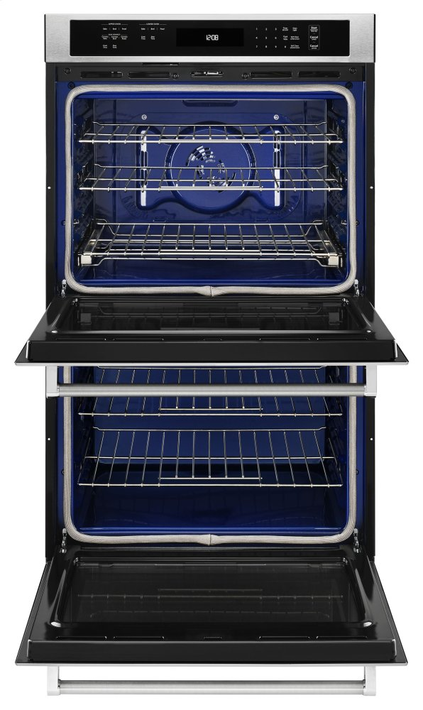 kode307esskitchenaid 27 double wall oven with even heat true