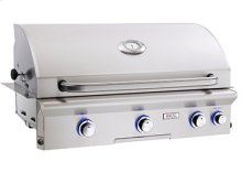 "Cooking Surface 648 sq. inches (36"" x 18"") Built-in Grill"