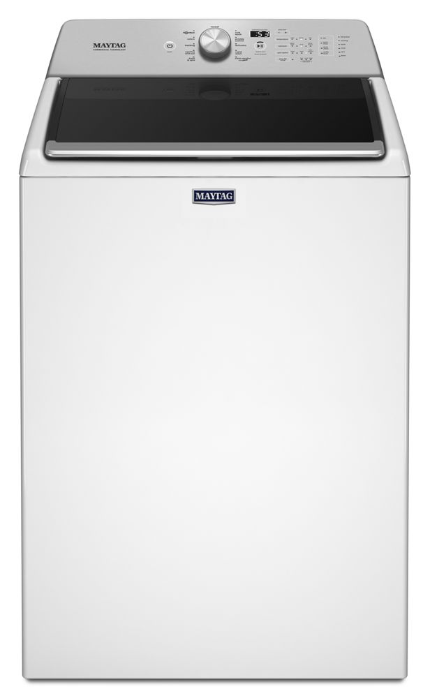 Top Load Washer with the Deep Fill Option and PowerWash(R) Cycle - 4.7 cu. ft.  WHITE