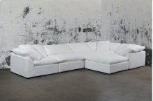 Sunset Trading Cloud Puff Slipcovered 6 Piece Modular Sectional Sofa - 391081