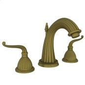 Antique-Brass Widespread Lavatory Faucet