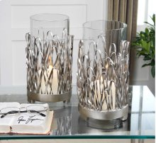 Corbis Candleholders, S/2