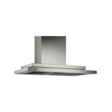 Wall-mounted hood AW 200 792 Stainless steel Width 90 cm, depth 56 cm Air extraction/recirculation