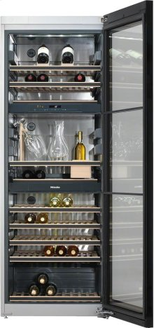 KWT 6832 SGS Freestanding wine storage unit FlexiFrame and SommelierSet for the perfect enjoyment of your wine.