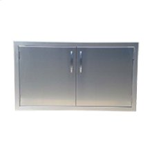"30"" Precission Double Access Doors"