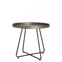 Table 64,5x59 cm HYLKE tin look
